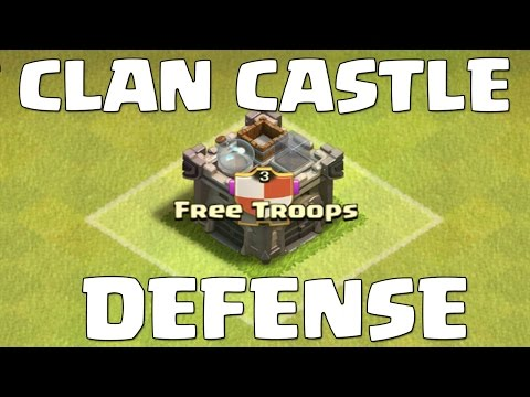 Clash Of Clans | The BEST Troops For Your Clan Castle Defense!