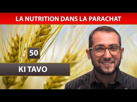 NUTRITION DANS LA PARACHAT 23 - KI TAVO 50 - Shalom Fitoussi