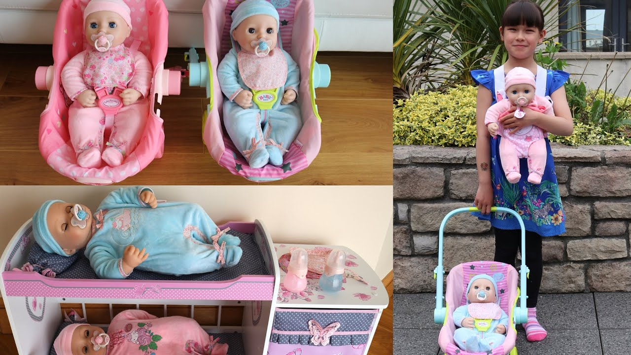New Baby Annabell & Baby Annabell Brother Doll plus Baby ...