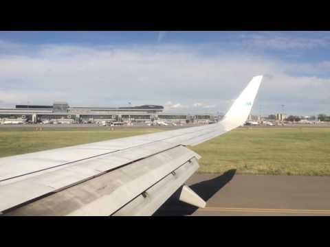 KLM B737-700 Amsterdam To Warsaw Flight