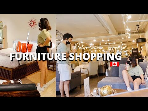 Let's Go Furniture Shopping | Furniture Stores In Toronto, Canada | Moving Series| Peekapooxo