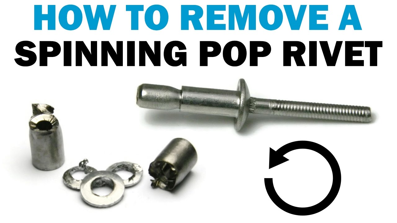 Remove A Spinning Or Loose Pop Rivet With Duck Tape