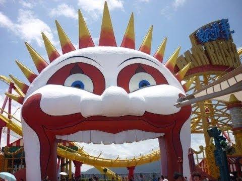 Hair Raiser Roller Coaster,  Ocean Park Hong Kong.  動感快車,海洋公园.