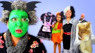 GRANNY Said YES!! Ruby Buys Any Halloween Dress Up to go trick or treat