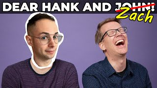 Zach Kornfeld Guest Hosts on Dear Hank and John!