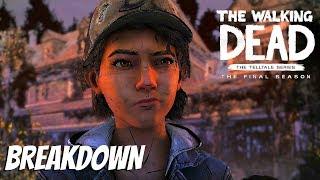 """The Walking Dead:Season 4: """"The Final Season"""" Official Trailer Breakdown - (Telltale Games)"""