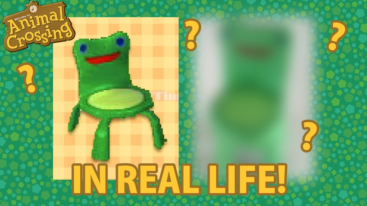 Making Froggy Chair Animal Crossing Craft Youtube