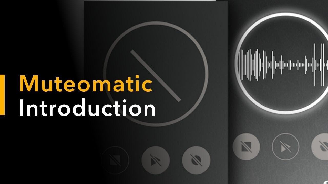 Muteomatic: Talkback Auto-Cue in Your DAW | Sound Radix