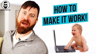 How Can I Work From Home With A Baby?