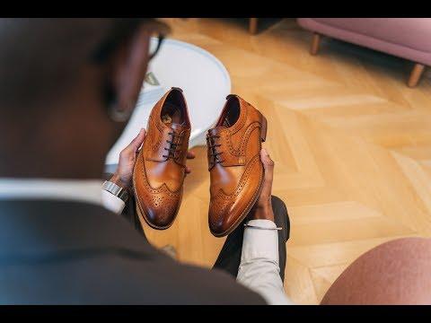 Motif Washed Tan | Base London Mens Shoes