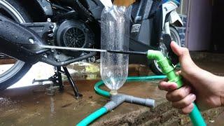 Cara Membuat Alat Cuci Motor / Mobil