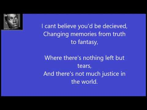Lemar If There's Any Justice Karaoke