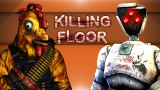 Killing Floor Mods! - Portal 3, Mortal Kombat, Dead Space Boss OP & More! (Funny Moments)