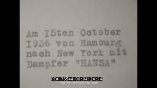 1936 TRIP TO NAZI GERMANY HOME MOVIE  MUNICH  KNEIPPIANUM HOTEL 76544