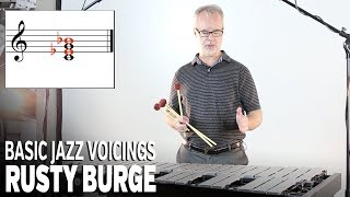 Vibraphone Lesson Series with Rusty Burge: Basic Jazz Voicings