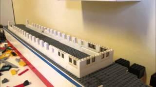 lego ship Time Lapse