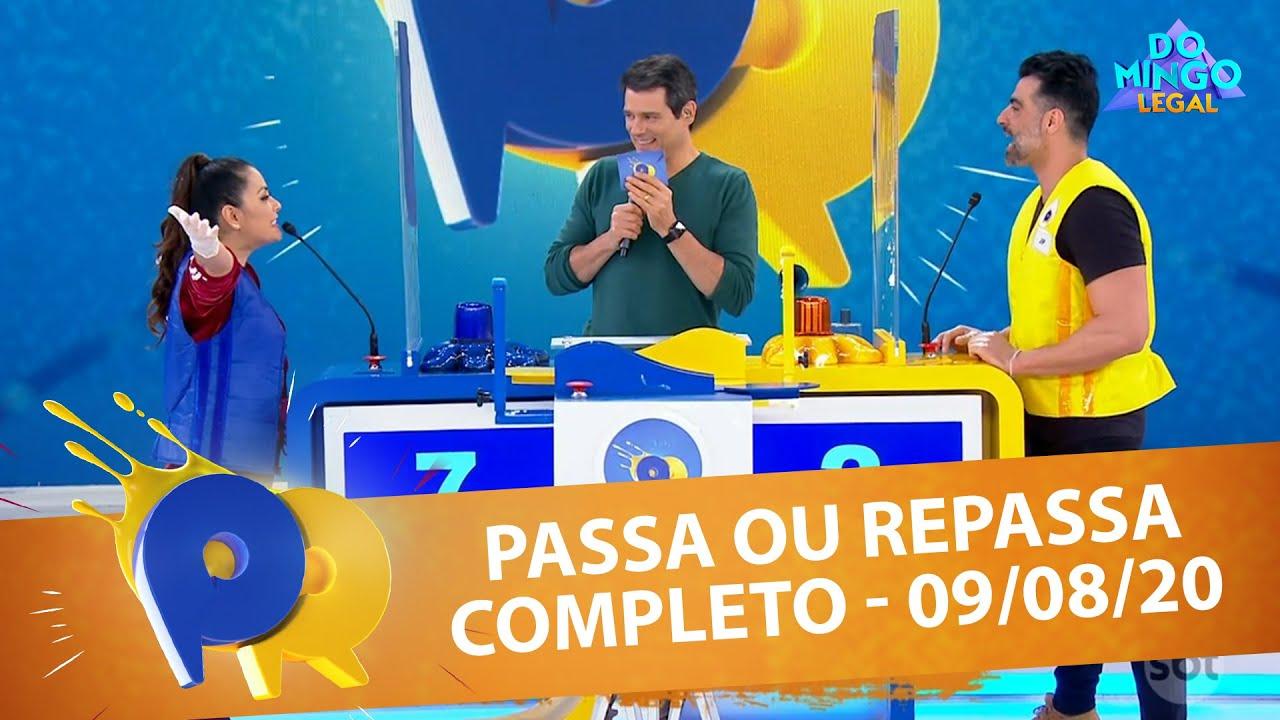 Passa ou Repassa - Completo | Domingo Legal (09/08/20)