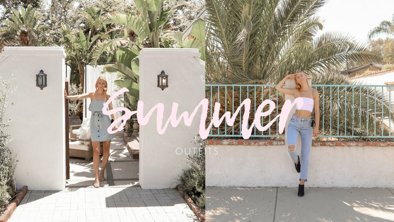 [VIDEO] - Affordable & Cute Summer Outfits You Need To Be Wearing! 7