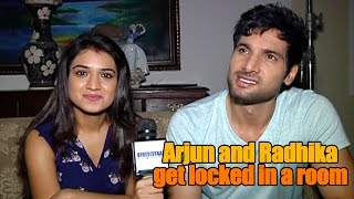 Arjun and Radhika get locked in a room  From the sets of Manmarziyaan