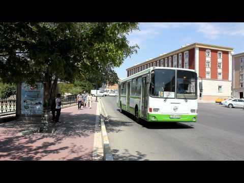 Nahcivan - Stadtbus in der Exklave Aserbaidschans, Nakhchivan - City bus August 2012 (HD)