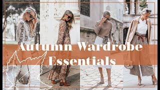 11 AUTUMN WARDROBE ESSENTIALS // 🍂 #FashionMumblrAutumnEdit 🍂
