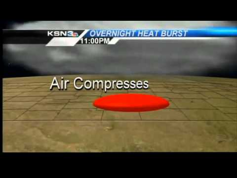 Wichita experiences rare 'heat burst' overnight - KSN TV, Kansas News and Weather.wmv