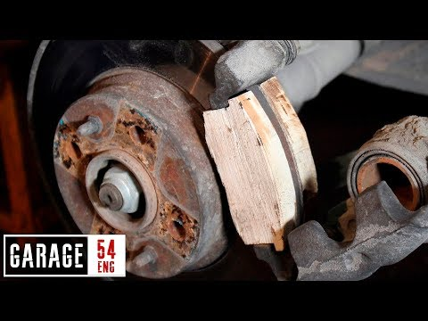 Wooden brake-pads: will they work or not?