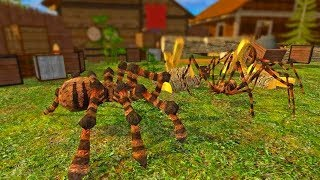 Spider Simulator: Life of Spider Android Gameplay HD screenshot 3