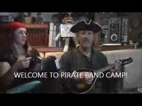 Pirate Band Camp - Lesson #1 - The Mermaid on mandolin and anglo concertina
