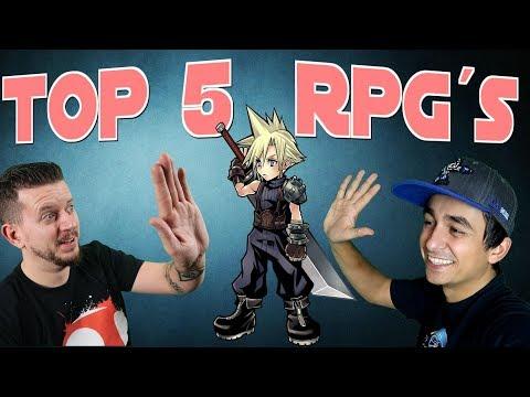 TOP 5 ROLLENSPIELE  (RPG) // Unser Liebsten Rollenspiele Aller Zeiten (mit Animatiker)