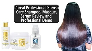 L Oreal Xtenso Care Sulfate Free Shampoo Masque Detailed Review How To Correctly Wash Your Hair Youtube