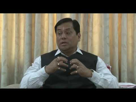 ASSAM CHIEF MINISTER MR SARBANANDA SONOWAL EXCLUSIVE INTERVIEW
