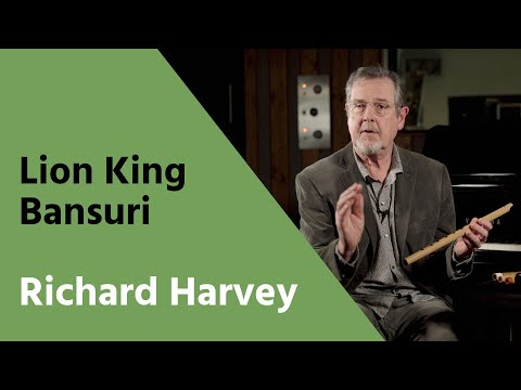THE FLUTE OF THE LION KING - Richard Harvey