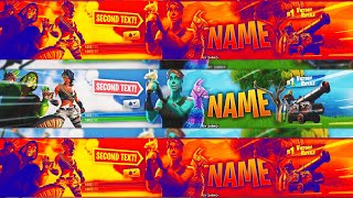 [FREE] BANNER TEMPLATE FORTNITE GHOUL TROOPER SEASON 8
