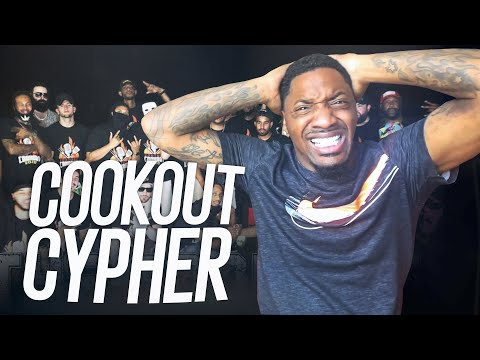BEST CYPHER YET!  | Crypt - Cookout Cypher (REACTION!!!)