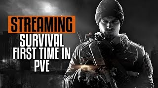 The Division 🔴 Late Night Survival | First Time in PVE | PC Gameplay 1080p 60fps
