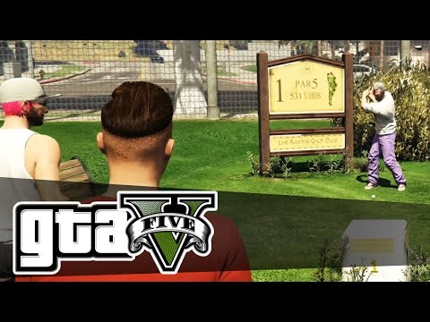 Grand Theft Auto 5 Online - LET'S GOLF - (GTA V) - PC Gameplay Episode 6