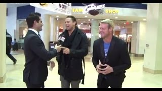 SUBSCRIBE FOR MORE WRESTLING INTERVIEWS!! The Miz and Dolph Ziggler...