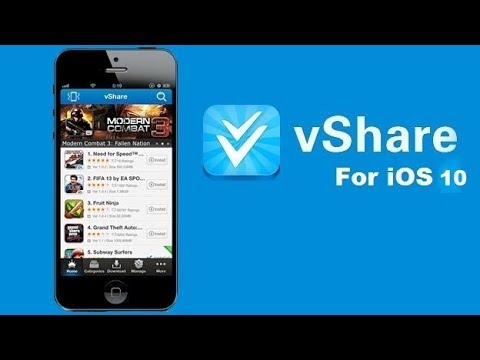 Install vShare PRO FREE On iOS 10 3 - PAID Apps For FREE (WITHOUT JAILBREAK)