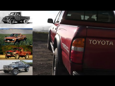 Toyota Tacoma - Hilux Best Truck Ever Made, History Review On A 2,600 Mile Road Trip.
