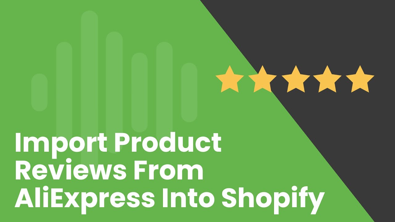 How to Import Product Reviews from AliExpress into Shopify