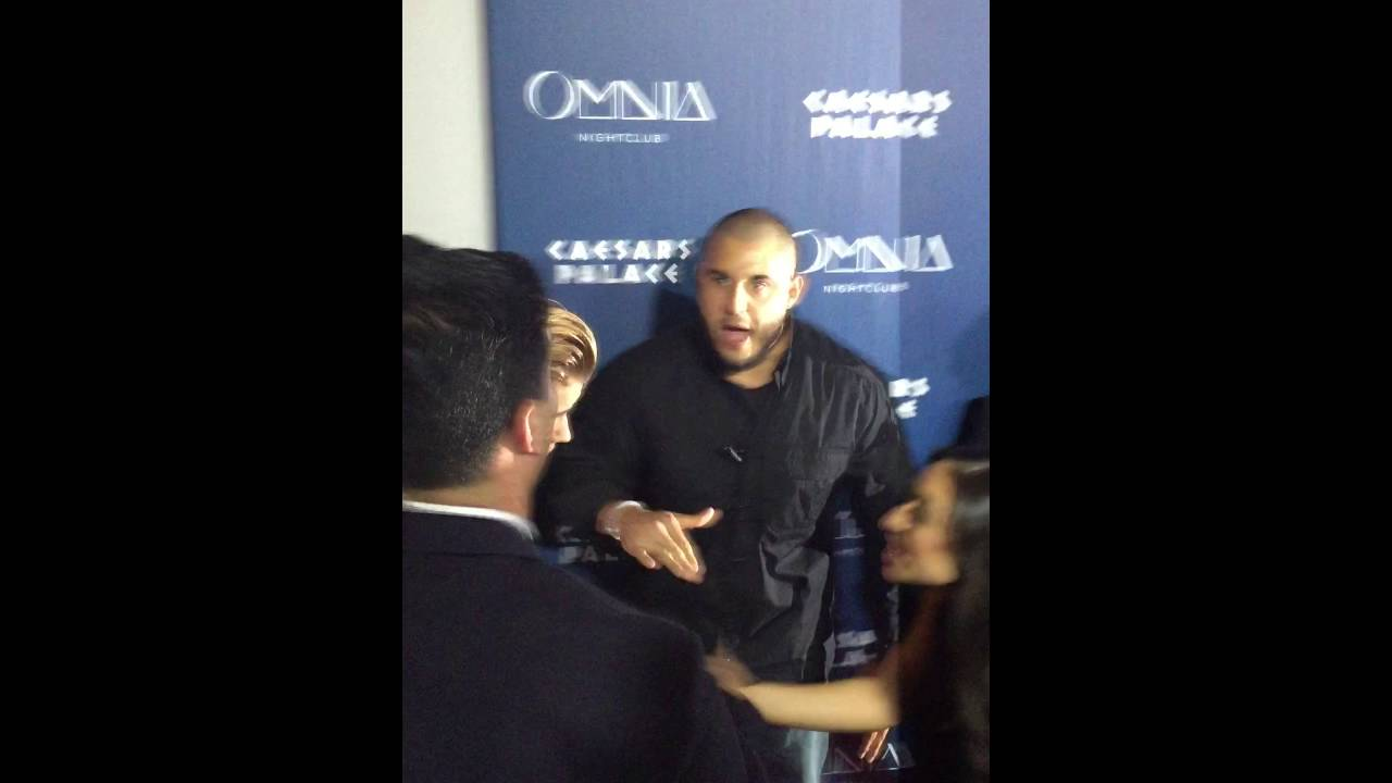 Justin Bieber 21st Birthday Red Carpet at OMNIA Nightclub Las Vegas