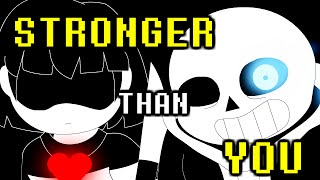 Sans Battle - Stronger Than You (Undertale Animation Parody) thumbnail