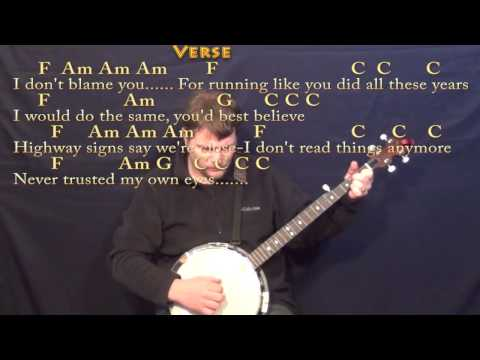 Stubborn Love (Lumineers) Banjo Cover Lesson with Chords/Lyrics ...