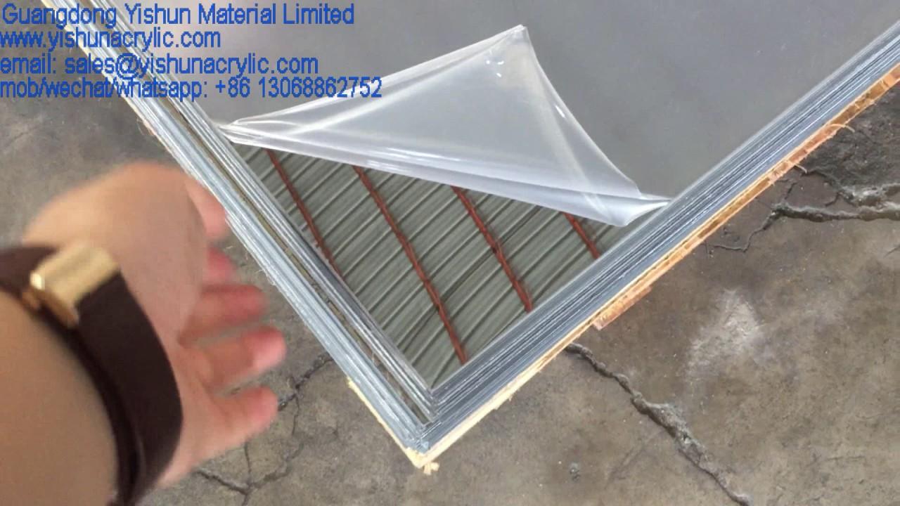 4ft X 8ft Size Silver Mirror Plexiglass Acrylic Sheet