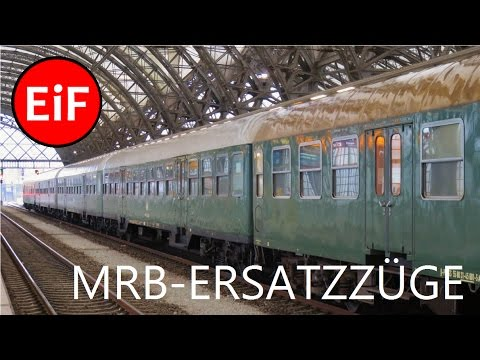 EiF | Die Ersatzzüge der Mitteldeutschen Regiobahn
