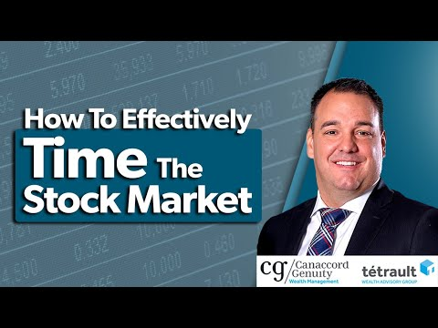 How To Effectively Time The Stock Market   Timing The Market