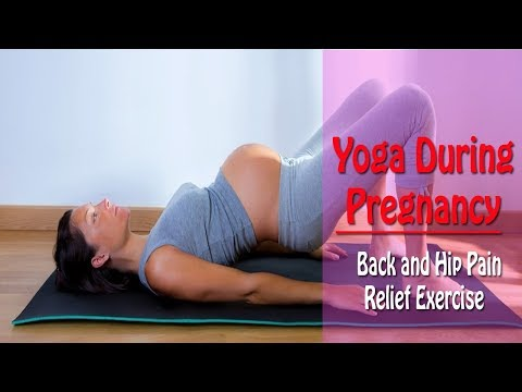 Yoga During Pregnancy | Back and Hip Pain Relief Exercise In Tamil