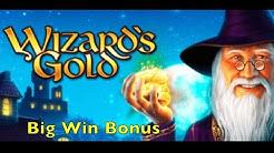WIZARD's GOLD - Big Win Bonus - Merkur Slot Machine Pokies Spielautomat Spielhalle IGT SG 슬롯 머신 큰 승리