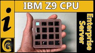 IBM Z9 MCM * Monster Ceramic CPU out of a Business Class Server *